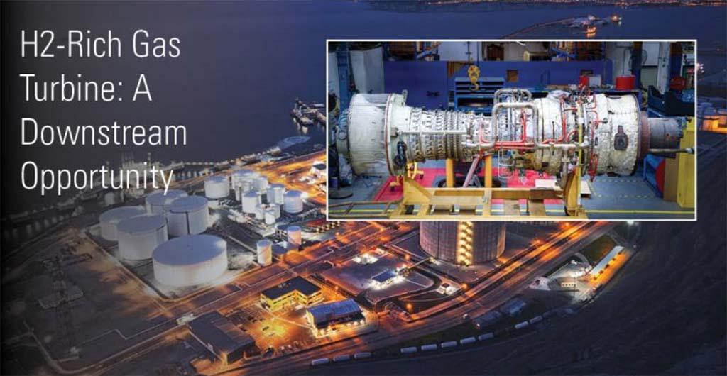 H2-Rich Gas Turbine A Downstream Opportunity